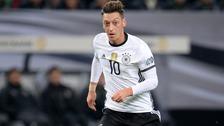 Mesut Ozil is fine.