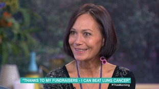 Emmerdale star Leah Bracknell 'terribly optimistic' about cancer fight