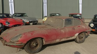 The jaguar had been expected to fetch around £30,000.