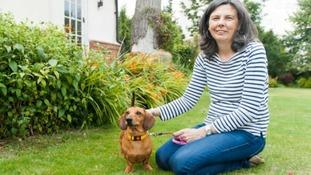 Helen Bailey and dog Boris