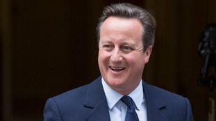 David Cameron reveals National Citizen Service role in first position since resigning as prime minister