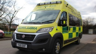 A school boy was injured after being struck by a pick-up truck