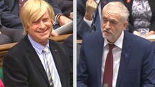 Jeremy Corbyn has denied having a dig at Lichfield MP Michael Fabricant whilst seemingly wishing him well following cancer treatment.