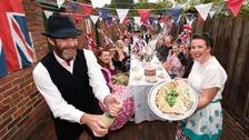 Beamish Director Richard Evans celebrating