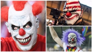 The 'killer clown' craze sees people dressing up as clowns in order to intimidate others.