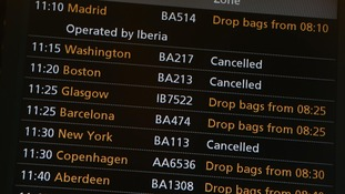 heathrow travel Superstorm sandy