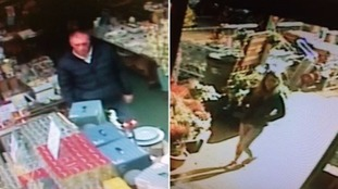 Festive thieves steal snowman, reindeer and decorations