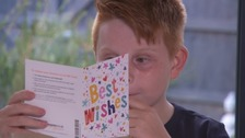 Toby Gates has received thousands of messages of support