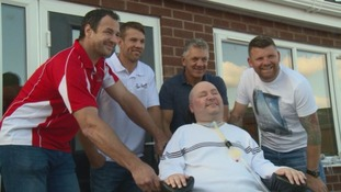 Rugby League heroes open Luke's new home