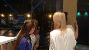 Hurricane Sandy diary: UK pupils barricaded in hotel