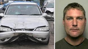 Hit'n'run driver jailed