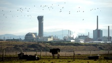 Sellafield Nuclear plant in Seascale, Cumbria