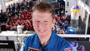 Tim Peake at Techniquest