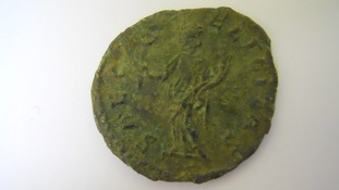 Rare Roman coin unearthed in Somerset