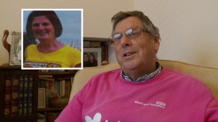 Steve Gazzard campaigns in memory of his daughter Sarah Wright