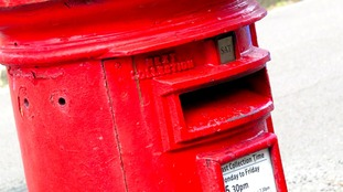 An explosive device - suspected to be a firework - was placed inside the postbox.