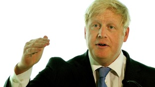 Boris Johnson Sandy New York