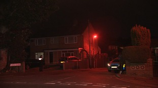 A baby died in the attack, while a toddler has been seriously injured.
