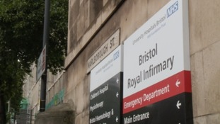Bristol Royal Infirmary is close to the city centre
