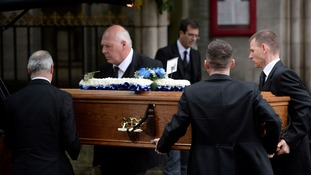 Mourners honour 'Iron Mike Towell' at boxer's funeral