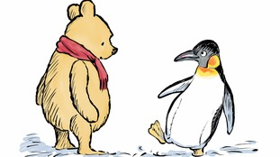 A new character joins Winnie-the-Pooh as he turns 90
