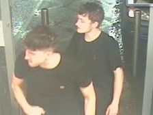 Derbyshire Police would like to speak to these two men