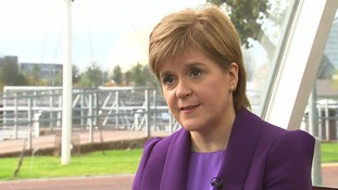 Nicola Sturgeon: Scotland's financial deficit no barrier to EU membership