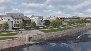 First look at Whitesands flood defence plans