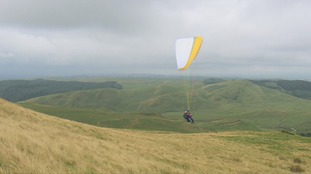 Year of Adventure: Paragliding in Mid-Wales