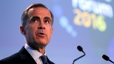 Governor of the Bank of England, Mark Carney.