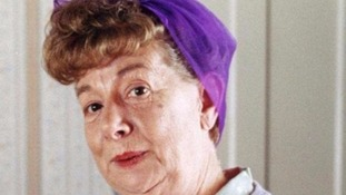 Jean Alexander played the role of Hilda to perfection