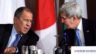 US and Russia in Switzerland for new talks to broker fresh ceasefire in Syria
