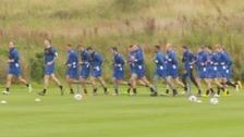 CUFC training