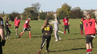 Quidditch comes to the West Country