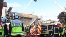 London Fire Brigade are on the scene