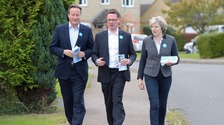 David Cameron, Robert Courts and PM Theresa May