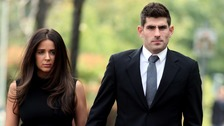 Ched Evans and girlfriend