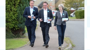 Cameron and May come together on the campaign trail
