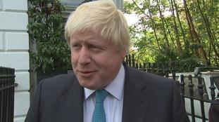 Boris Johnson defends his secret pro-EU column calling it 'semi-parodic'