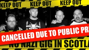 'Nazi gig cancelled' after anti-racism group pressure