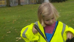 The five-year-old litter-picker on a mission