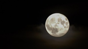 Photo of the Supermoon in Leamington Spa