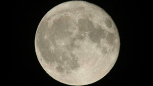 Photo of the Supermoon near Hinckley