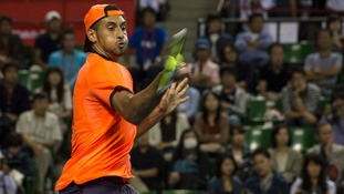 Tennis player Nick Kyrgios suspended over Shanghai Masters behaviour