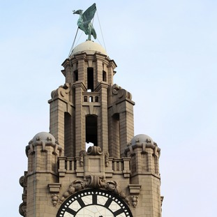 The famous Royal Liver Building is expected to fetch around £40m