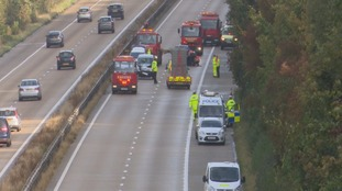 VIDEO: M3 re-opened southbound after fatal crash