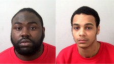 Nathan Sylvester (left) and Troy Lewis (right) have been convicted of murder.