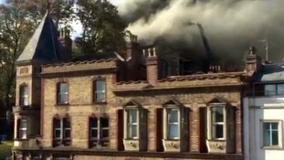 Bristol church fire: investigations begin into blaze that destroyed a third of building's roof