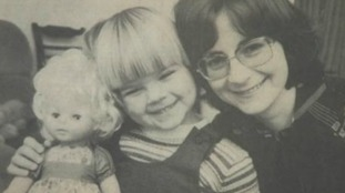 REPORT: 40 years on- How this little girl is helping to save the lives of new mums and babies