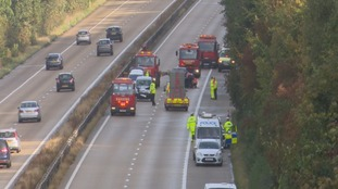 M3 UPDATE: 37 year old Hampshire man dies after being hit by car